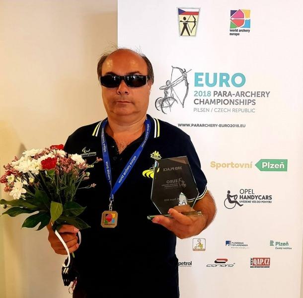 Jordi Casellas, bronze a Pilsen