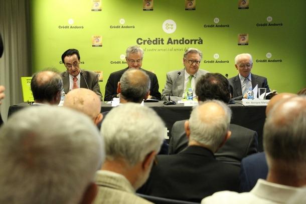 Andorra, Quaderns d'Estudis Andorrans, Marquès, Marfany, Himne Andorrà, Crèdit