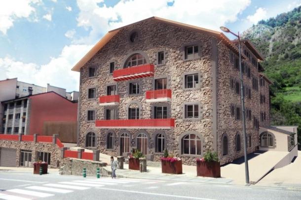 Imatge virtual del Rosaleda, segons el projecte que es va presentar el 2015 i que dissabte i diumenge es podrà visitar en una jornada de portes obertes.