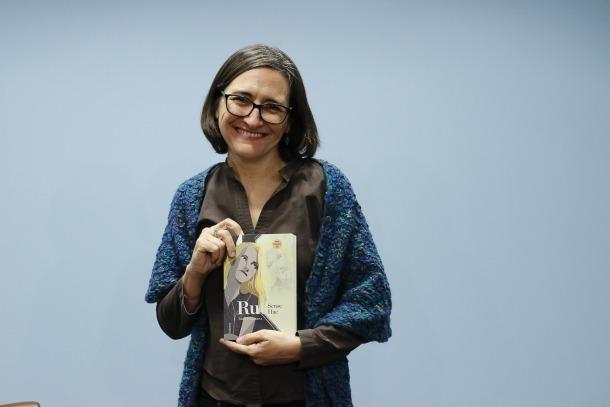 L'escriptora va recollir el premi, dotat amb 8.500 euros.