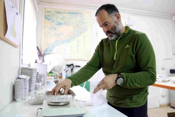 Juan Martínez de Aragón, investigador experts en bolets.