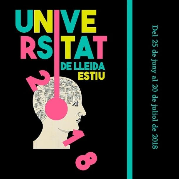 El cartell de la Universitat d'Estiu d'enguany.