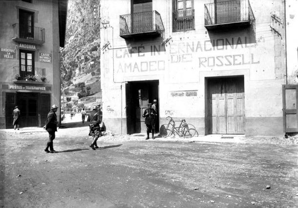 Andorra, Lang, IBIX, Col·loqui d'Estudis Tranfronterers, Weilenmann, Skossyreff, 1933, correus