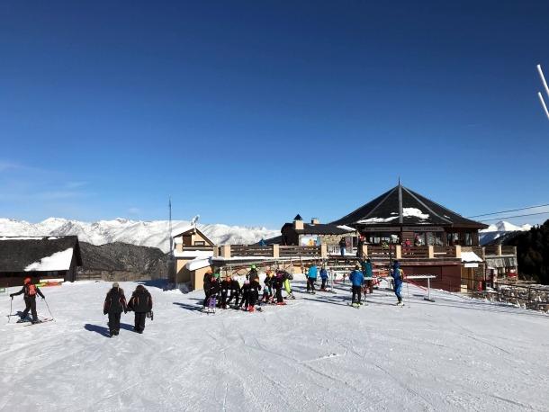 El 3 de desembre passat es va estrenar la temporada a l'estació de Portainé.