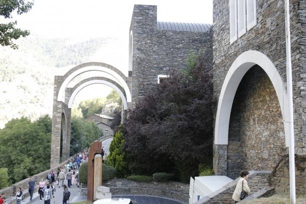 Andorra, pont de la Margineda, clàusula Margineda, benzinera, entorns de protecció, Radio Andorra, Meritxell