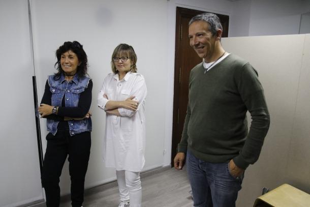 Andorra, teatre, Atida, associació de donants i transplantats, Jo dono tu dones ell dona, reforma sanitària, Entreacte, Mercè Canals, Núria Gras