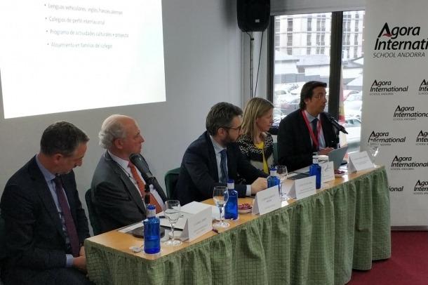 Presentació del projecte educatiu d'Agora School Andorra a l'hotel Roc Blanc.