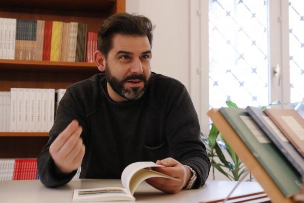 David Gálvez, primer autor nostrat del rànquiing amb 'Res no és real', al número 60.