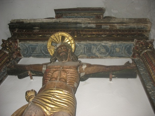 Andorra, Ordino, retaule, art modern, Sant Crist, Mestre de Pal, Isidre Clusa, Agustí Claramunt, Universitat de Girona