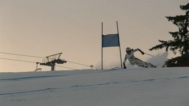 L'esquiadora va tornar a destacar en una prova de Copa d'Europa.