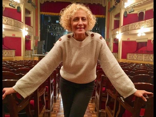 L'actriu catalana encarna Alba a l'obra homònima de Marc Artibau, que Raimon Molins dirigeix dimecres a Sant Julià.