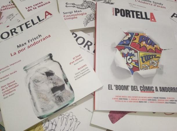 El primer número de 'Portella' va aparèixer el novembre del 2010; el 13, i fins ara últim, el novembre del 2018.