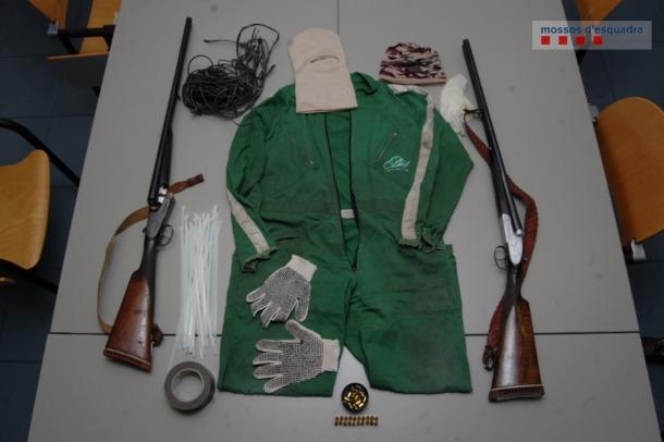 Ingressen a la presó dos homes per un robatori amb violència a Organyà