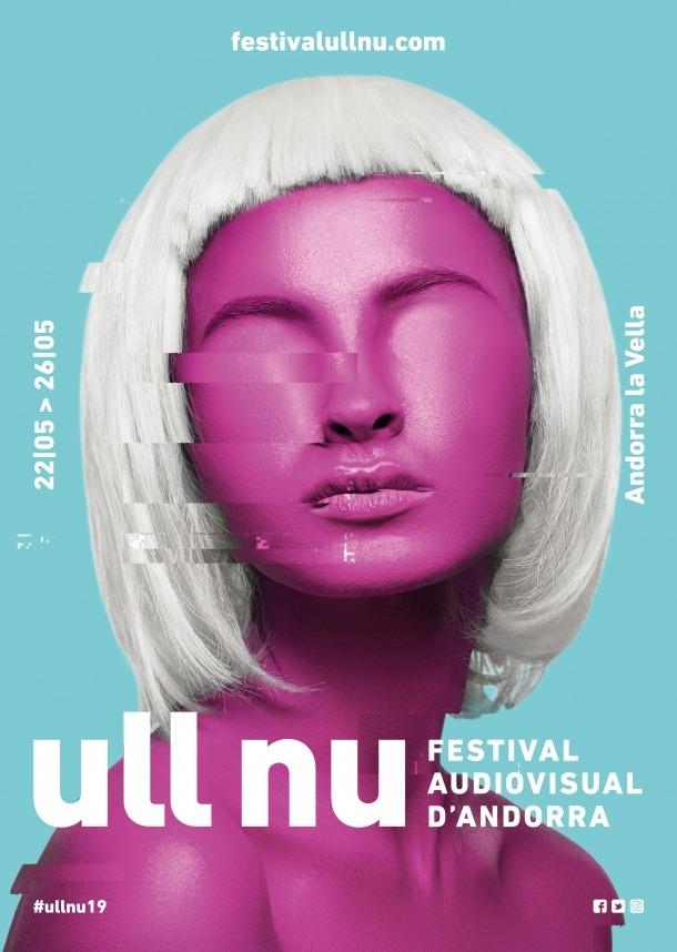 Imatge gràfica de la 7a edició d'Ull Un, des d'ara Festival audiovisual del Pirineu.