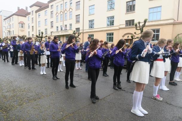La banda juvenil de l'escola de música d'Esparaguera toca diumenge a la Massana.