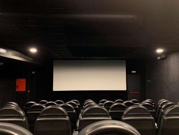 La nova sala 6, estrenada a principis d'abril i amb capacitat per a 60 espectadors.