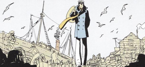 Corto maltés, a 'Equatoria', la segona aventura del personatge d'Hugo Pratt resssuscitat per Juan Díaz Canales i Ruben Pellejero.