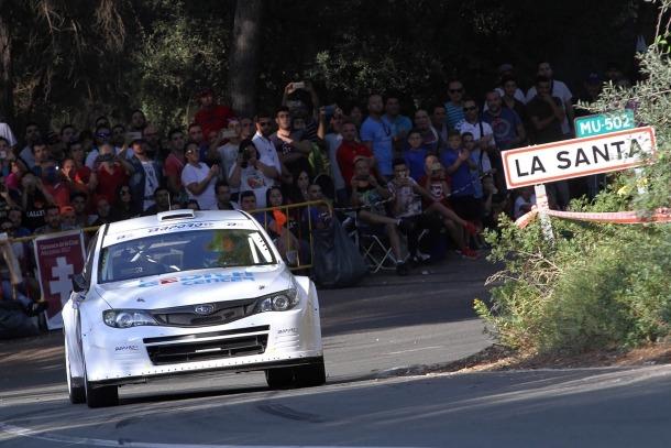 Gerard de la Casa estrena el Subaru Impreza amb una victòria a Totana