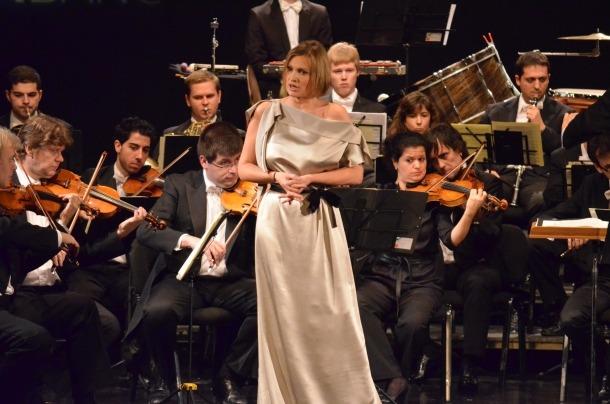 L'excursió de diumenge a Barcelona és per veure Ainoha Arteta a 'Madama Butterfly'; aquí dalt, el 2012 al Centre de Congressos.