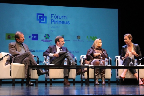 Andorra, Fòrum Pirineus, Carme Riera, Javier Moro, Carmen Posadas, espanyol, llengua espanyola