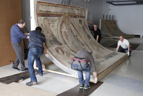 Andorra, ICOM, Museu Nacional, Gehry, frescos de Santa Coloma, Lourdes López, Abel Fortó