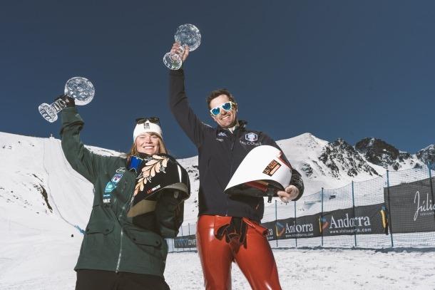 Britta Backlund i Simone Origone, vigents campions, defensaran el títol al Principat.