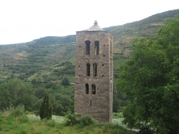 El campanar de Sant Martí de Bescaran