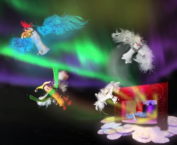 Andorra, performance, clown palace, Daniel Arellano, les Fontetes, Comunal