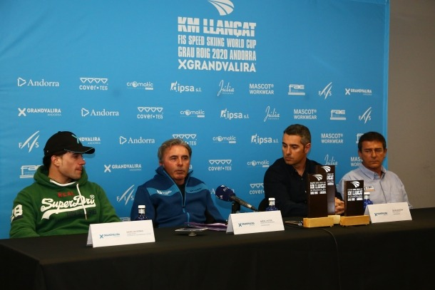 Les finals de la Copa del Món d'esquí de velocitat, que tornen a disputar-se a la pista Riberal, es van presentar ahir a la seu de la Federació Andorrana d'Esquí (FAE).