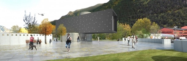 Andorra, frescos, Santa Coloma, Mireia García, Francesc Rodríguez, Jordi Batlle, edifici, projecte, mapping