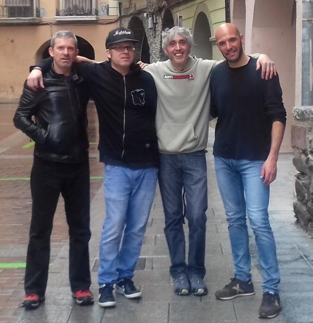 Jordi Díaz, Jordi Solé, Joao Gómez i Mario Cruz són els Komanem de 'Nit en blanc', a partir del 9 de desembre a la venda.