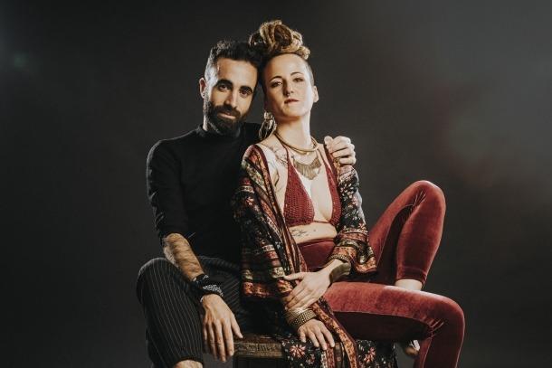 Andreu Roig i Paula Giberga, l'ànima de La Folie, que s'estrena aquesta tarda al River.
