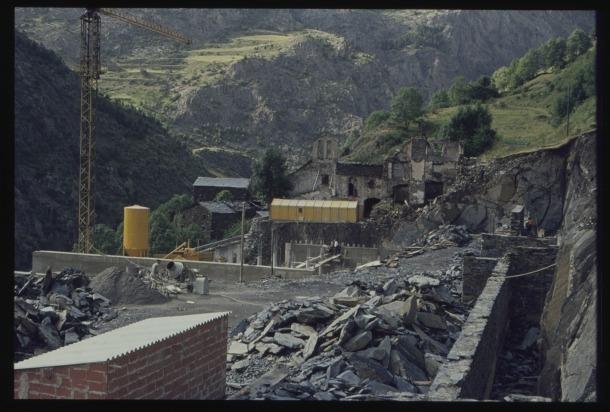 Andorra, Canillo, Meritxell, construcció, Josep Moles Demunt, Arxiu Nacional, Bofill, Esteve Albert, Pessebre Vivent