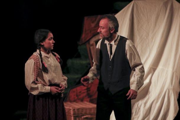 Folch i Torres, l'autor de 'Els Pastorets' exerceix com a mestre de cerimònies al Claror.
