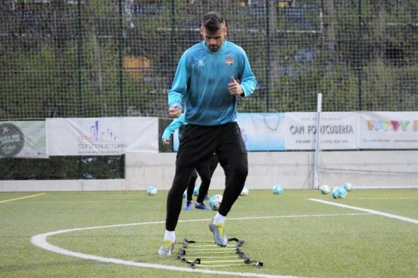 Adrià Vilanova no jugarà contra l'UD Viladecans