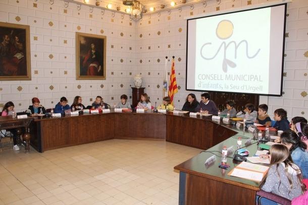El Consell Municipal d'Infants de la Seu celebra el ple de constitució