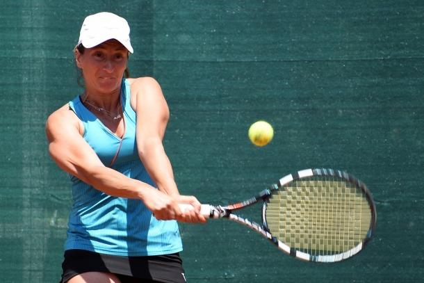 La tennista italiana Federica di Sarra serà la primera rival de Vicky a Amiens.