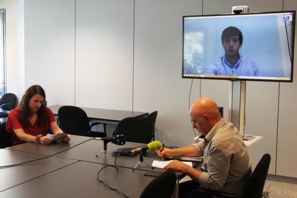 Préixens, Villaró i, a la pantalla, Padreny, ahir a la seu de l'IEA.