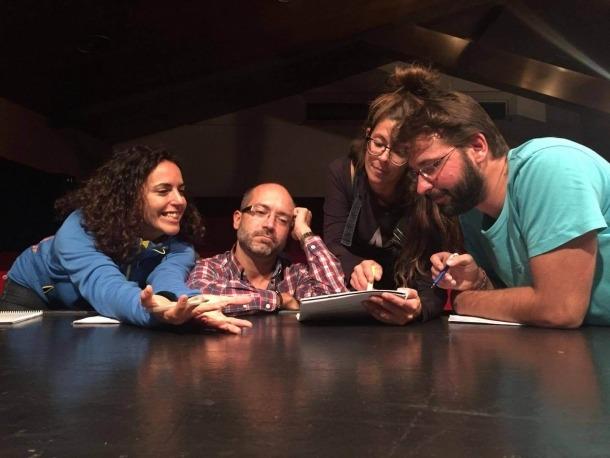Andorra, Encamp, Lapsus, teatre, Valireta, Joan Hernández, Alberola, Alaminos, Adrán, Sans, Gavaldà, estrena