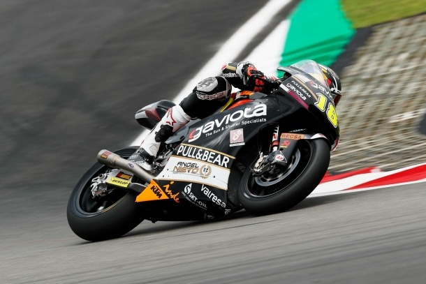 Xavi Cardelús tanca el GP de Malàisia en penúltim lloc