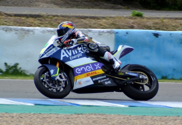 Xavi Cardelús va tancar la tercera i última jornada d'entrenaments a Jerez.