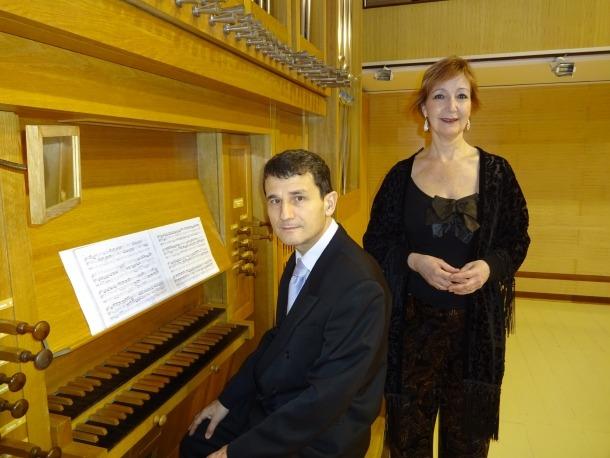 L'organista Miguel Bernal i la soprano Julia Ruiz actuaran aquesta nit, a les nou.