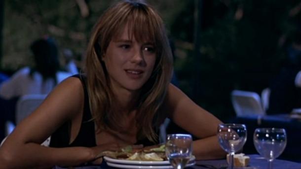 L'actriu madrilenya Emma Suárez, en una memorable escena de 'La ardilla roja'.