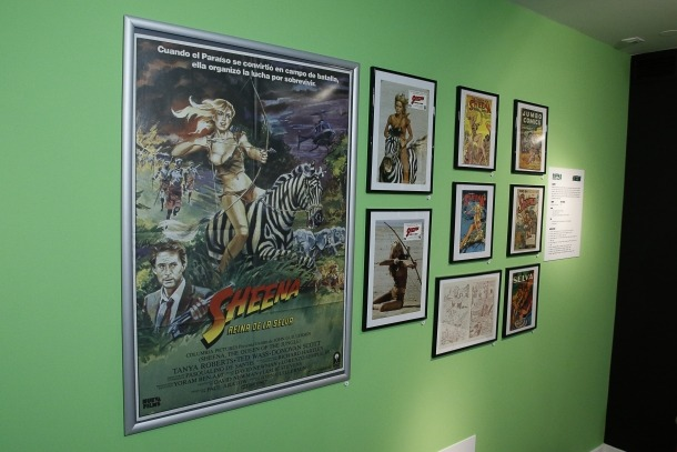 El col·leccionista Pep Benavent ha reunit prop de 50.000 peces entre cartells, programes de mà, còmics, llibres i pel·lícules: al Museu del Tabac n'exposa fins al 21 d'abril prop de tres centenars amb els personatges de la Marvel com a fil conductor.