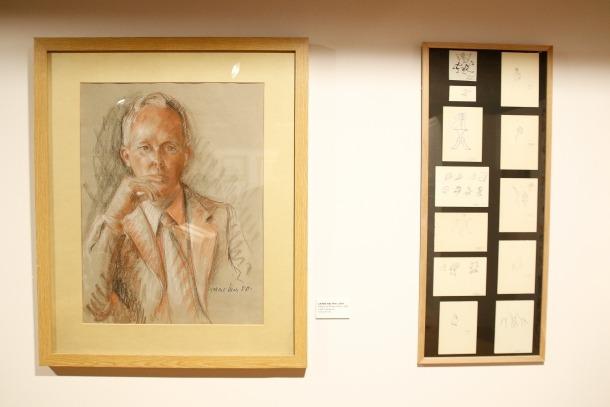Danjon, retratat el 1980 per la pintora Carme Mas.