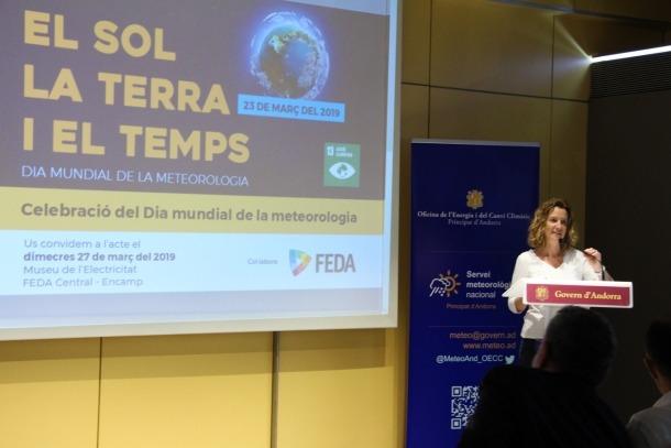 El Servei Meteorològic Nacional dedica al sol el primer dia de la meteorologia com a membre de l'OMM