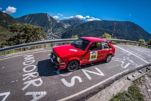 Xavier Valverde i Roger Grandia, primers al Ral·li d'Andorra Històric