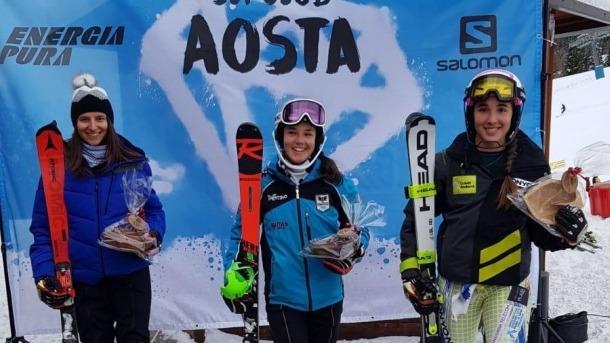 'Cande' Moreno competirà a Narvik.