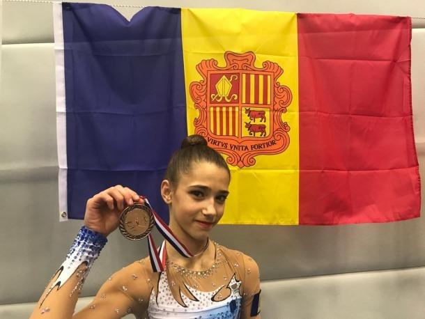 Maria González es penja el bronze a Amsterdam