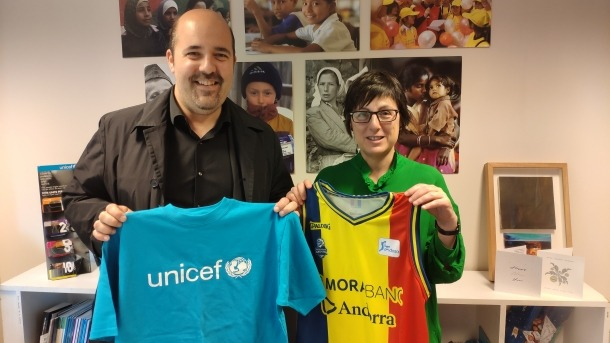 El MoraBanc i Unicef, junts